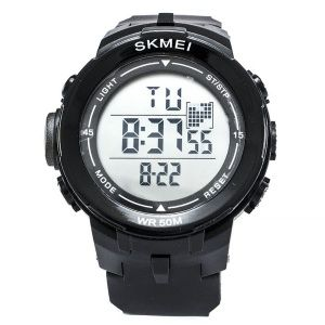 Часы Skmei DG1127 Black - White BOX