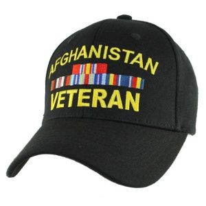 Кепка Eagle Crest Afghanitan Vet W/Ribbons (Stretch Fit) Black-6
