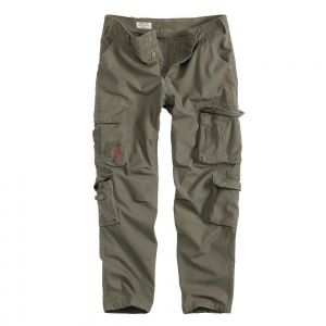 Брюки Surplus Airborne Slimmy Trousers Oliv Gewas