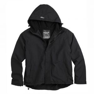 Куртка Surplus Zipper Windbreaker Schwarz