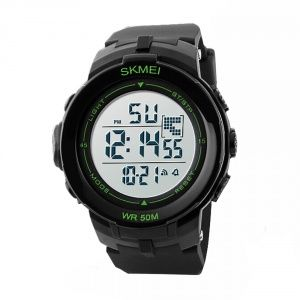 Часы Skmei DG1127 Black - Green
