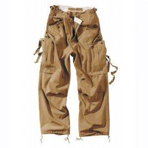 Брюки Surplus Vintage Fatigue Trousers Beige Gewas