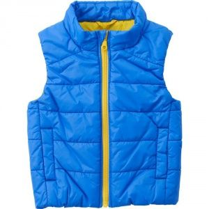 Жилетка Uniqlo toddler body warm lite full-zip vest Blue