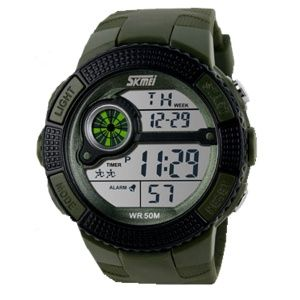 Часы Skmei 1027 Army Green BOX