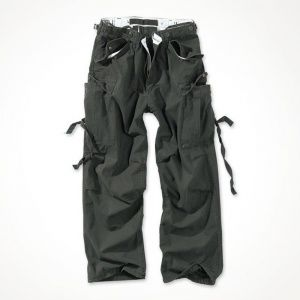 Брюки Surplus Vintage Fatigue Trousers Schwarz Gewas