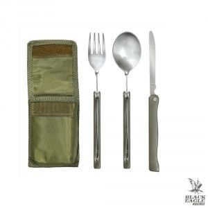 Походный набор Rothco 3PC Folding Chow Kit W/Pouch OD