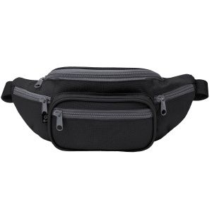 Сумка Brandit Waist belt bag Black-anthracite