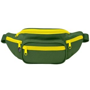 Сумка Brandit Waist belt bag Oliv-yellow