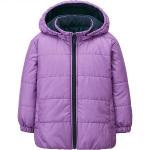 Куртка Uniqlo toddler warm lite jacket PURPLE