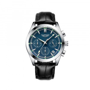 Часы Guanqin Silver-Blue-Black GS19096 CL