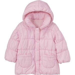 Куртка Uniqlo Toddler Body Warm Lite PINK