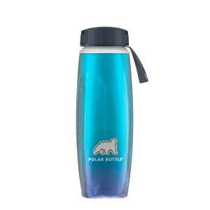 Бутылка Polar Bottle Ergo Aurora Cyan 22oz
