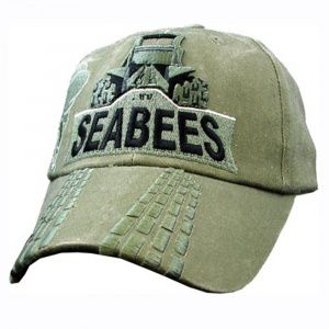 Кепка Eagle Crest Seabees W/Bulldozer (OD Washed)