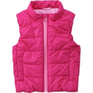 Жилетка Uniqlo toddler body warm lite full-zip vest Pink