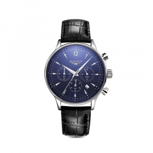 Часы Guanqin Silver-Blue-Black GQ001 CL