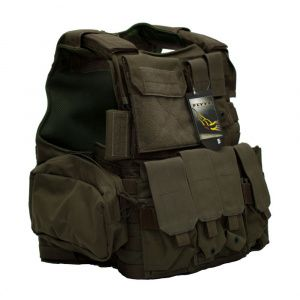 Бронежилет Flyye Force Recon Vest with Pouch Set Ver.Land Ranger Green