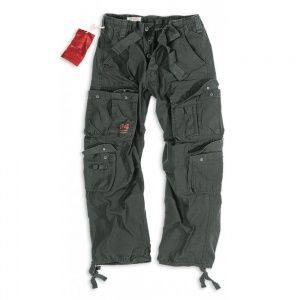 Брюки Surplus Airborne Vintage Trousers Black
