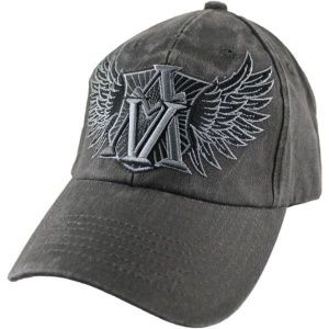Кепка Eagle Crest American Valor Washed-5 DK Grey