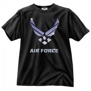 Футболка Rothco Air Force Black