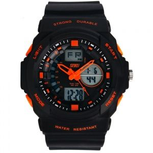 Часы Skmei 0955 Black-Orange