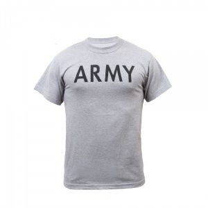Футболка Rothco Army Physical Training Grey