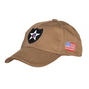 Кепка Baseball Cap 2nd Infantry Tan