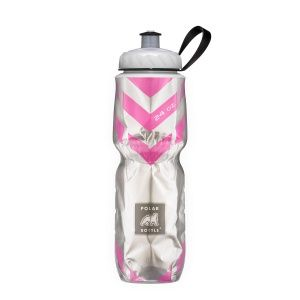 Бутылка Polar Bottle Chevron Pink 24oz