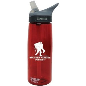 Бутылка для воды Camelbak Eddy 7.62 Wounded Warrior CHILI RED
