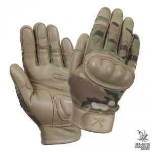Перчатки Rothco Hard Knuckle Tactical Gloves Multicam