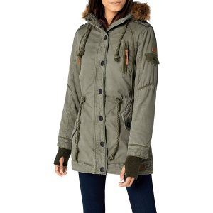 Куртка Brandit Ladies Layla Girls Parka OLIVE