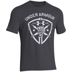 Футболка Under Armour Black Ops Fist Gray