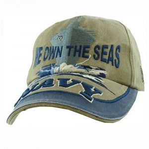 Кепка Eagle Crest Navy We Own The Seas Khaki