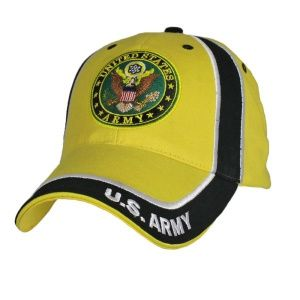 Кепка Eagle Crest U.S.Army W/Logo Two Tone Yellow/Black