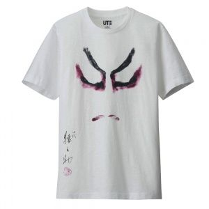 Футболка Uniqlo Men Shochiku Kabuki graphic White