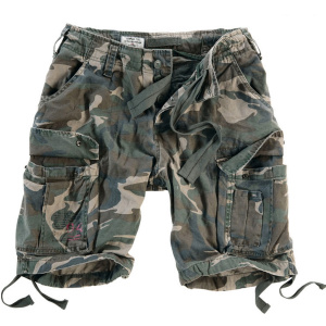 Шорты Surplus Airborne Vintage Shorts WOODLAND GEWAS