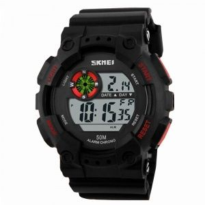 Часы Skmei 1101 Black-Red