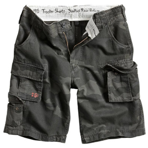 Шорты Surplus Trooper Shorts BLACK CAMO