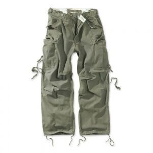 Брюки Surplus Vintage Fatigue Trousers Oliv Gewas