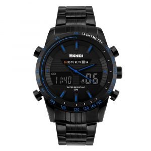Часы Skmei 1131 BK-Blue BOX