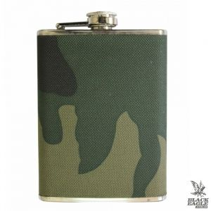 Фляга MIL-TEC Stainless Steel Flask 220 ml Woodland