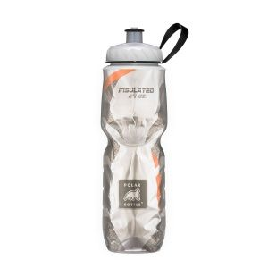 Бутылка Polar Bottle Carbon Fiber Orange 24oz