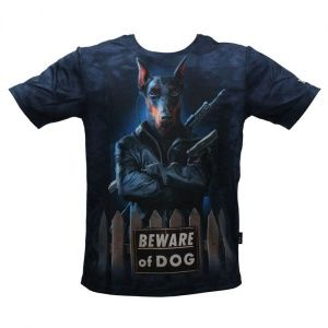 Футболка 5.11 Tactical Beware of Dog