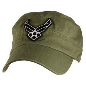 Кепка Eagle Crest Usaf Logo Flat Top-5 Green Olive