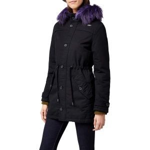Куртка Brandit Ladies Franka Ripstop Parka BLACK-PURPLE