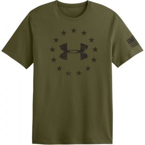 Футболка Under Armour Tactical Graphic Freedom Olive