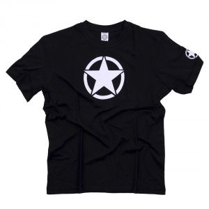 Футболка T-Shirt with White Star Black