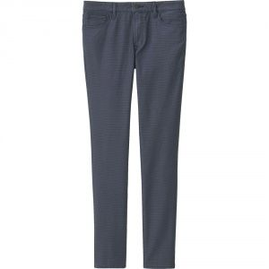 Джинсы Uniqlo Stretch Skinny Fit Tapered BLUE