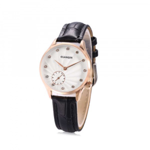 Часы Guanqin Gold-White-Black GS19052 CL