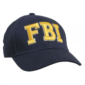Кепка Baseball Cap FBI Gold Blue