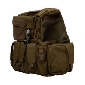 Бронежилет Flyye Force Recon Vest with Pouch Set Ver.Land Khaki
